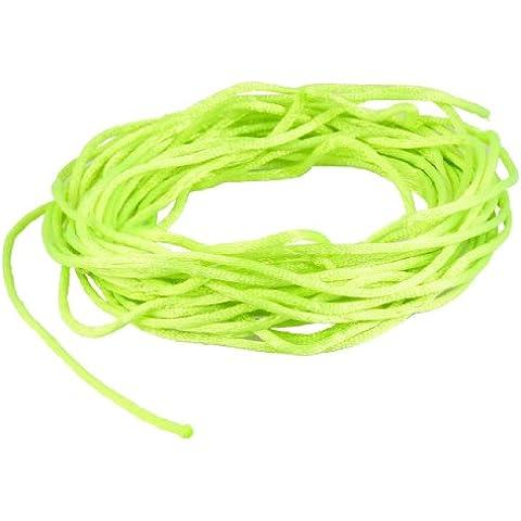 Verde brillante trenzado Hilo Nylon Handwork chino nudo de cuerda Rata cola Cord
