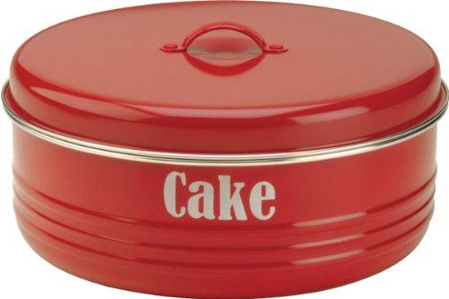 Typhoon Vintage Kuchendose Cake, Rot