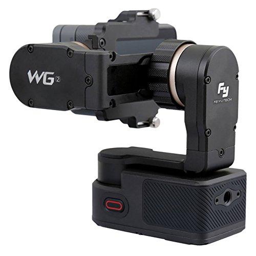 FeiYu-Tech WG2 Sport Action Camera stabilizer Negro estabilizador para cámara - estabilizadores de Video (Litio, 1500 mAh, 3,7 V, 2,5 h, 2 h, 265 g)