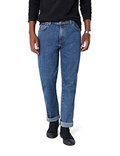 Wrangler Kinder-jeans (Wrangler Texas Herren Jeans, Blau (Stonewash, Light blue), 36W / 30L)