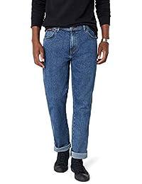 Wrangler Herren Jeans Texas Original Straight, Blau (Stonewash 010),W35/L30