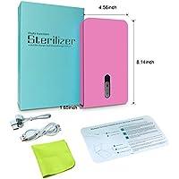 M3M Sanitizer de teléfono Celular portátil de Uso múltiple desinfectante UV con Cargador USB y Aromaterapia