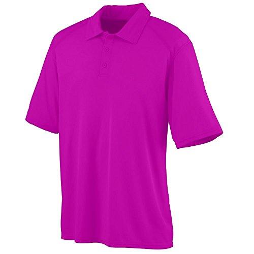 Augusta Herren Poloshirt Rosa - Power Pink