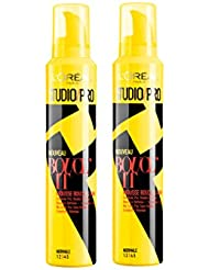 L'Oréal Paris Studio Pro Mousse Coiffante Boucle 200 ml - Lot de 2