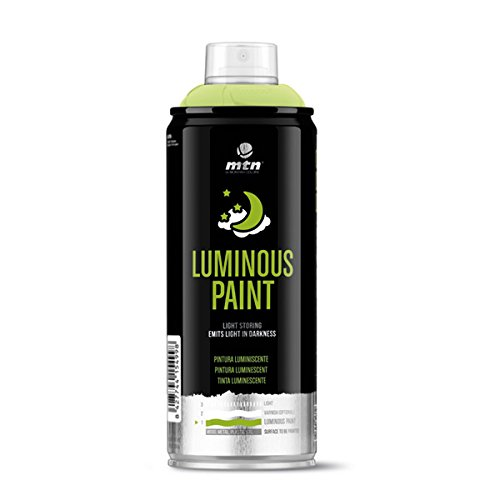 Montana Colors MTN PRO Pintura Luminiscente - Spray de Pintura, Brilla en la oscuridad