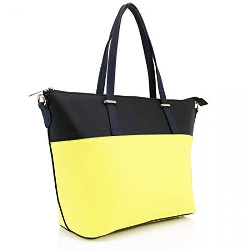 Elegant , Damen Tote-Tasche gelb