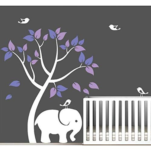 Preisvergleich Produktbild Jixiaosheng Neue Vinyl Wand Rs Baum Wohnkultur Wohnzimmer Baby Kinderzimmer Wandtattoos Tier Dekor Aufkleber Home Ornament 121 * 165 Cm