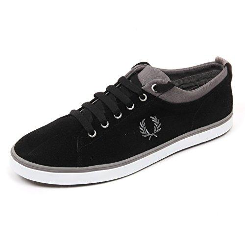 C3974 sneaker uomo FRED PERRY scarpa nero shoe man Nero De Descuento Encontrar Gran Venta Al Por Mayor Del Mejor Venta Barata Mejor Gr0xzP8bOt