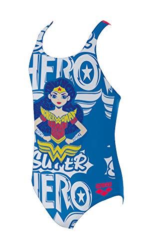 arena G Super Hero Jr, Tech-Kostüm für Mädchen, Kind, 001520, Wonder Woman, 14-15