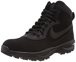 NIKE Men's MANOADOME Hi-Top Trainers, Black, 7 UK 41 EU