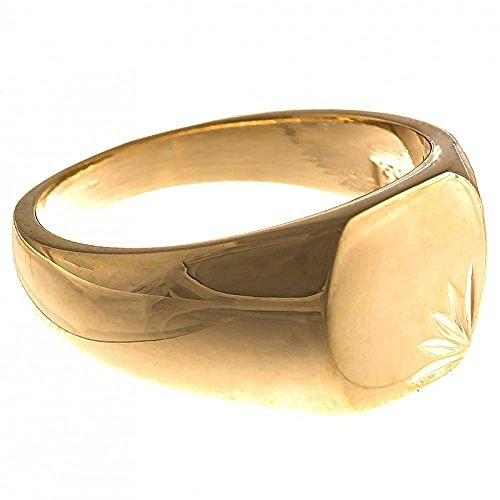 a13de6d25c218 ISADY - Lovely Gold - Bague Mixte Homme Femme - Chevalière - Plaqué Or 750