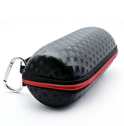 poschell-portable-black-plaid-travel-speaker-case-shockproof-box-skin-for-jbl-charge-2-bluetooth-spe