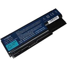 vhbw batería 4400mAh (10.8V) para Notebook, portátil Acer Aspire 7520G-502G25Mi 5920-6661 7720G-5A2G16Mi 8920G 5520-5A2G16 7720G-302G25Mn etc.