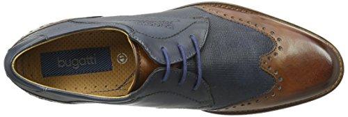 Bugatti 312232021111, Derby homme Blau (Blue 6340)