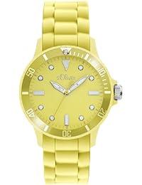 s.Oliver Damen-Armbanduhr Analog Silikon SO-2434-PQ