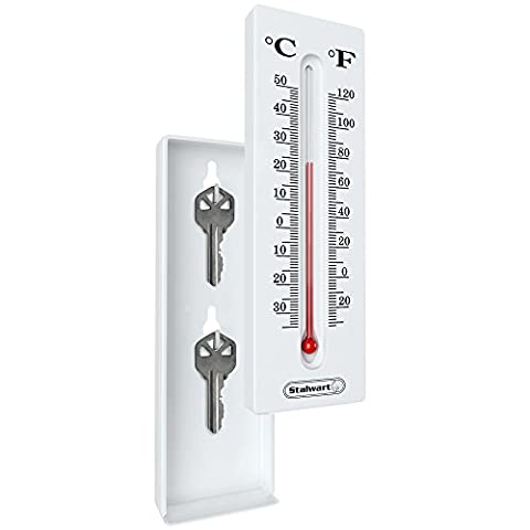 Stalwart Thermometer Hide-A-Key