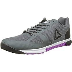 Reebok Crossfit Speed TR 2.0, Zapatillas de Deporte para Mujer, Varios Colores (Alloy/Black/Vicious Violet/White/Silver), 37.5 EU