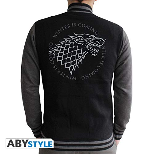 ABYstyle abystyleabyswe021-l Abysse Juego de Tronos Stark hombre chaqueta (grande)
