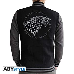 ABYstyle ABYstyleABYSWE021-M Abysse Game of Thrones Stark - Chaqueta para Hombre (tamaño Mediano)