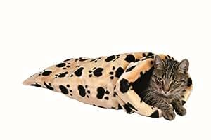 Trixie 42964 Couverture Mara pour chat Beige ø 37 cm x 60 cm