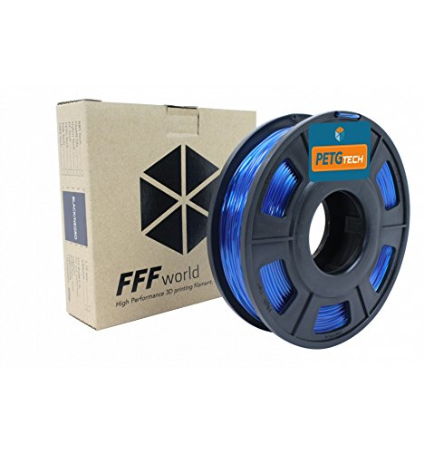 PETG Tech 250 g. Blue 1.75 mm High performance P.E.T.G. Filament for 3D Printer