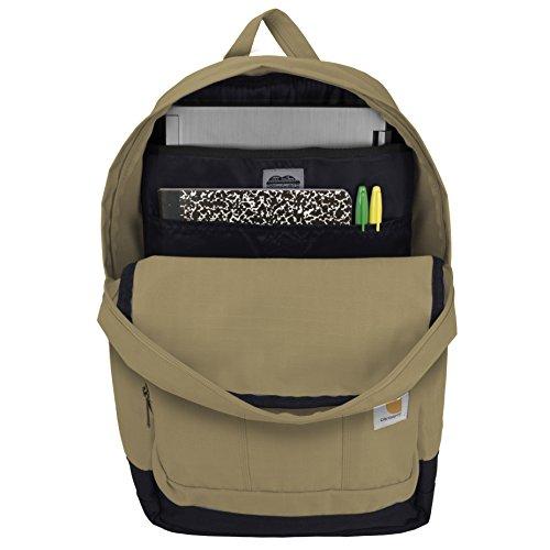 Carhartt D89 Rucksack Schulrucksack Bag, schwarz, 110313 Field Khaki
