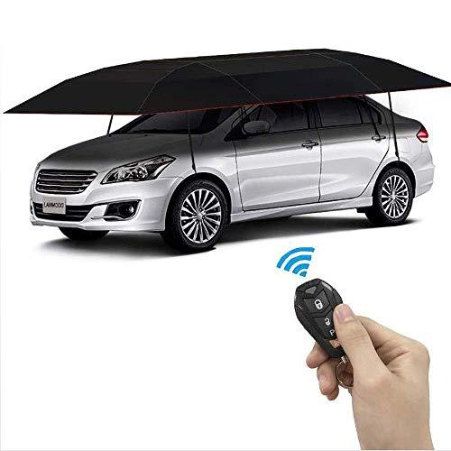 Portable Car Umbrella by Prosmart | Water Resistant Car Umbrella | Windproof Car Umbrella | Car Umbrella Tent | Big Size Car Umbrella | Car Umbrella Cover (Black)