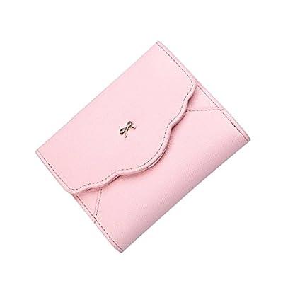 ZLR Mme portefeuille Lady Short Wallet Mini Mignon Petit Portefeuille Petite Monnaie Frais