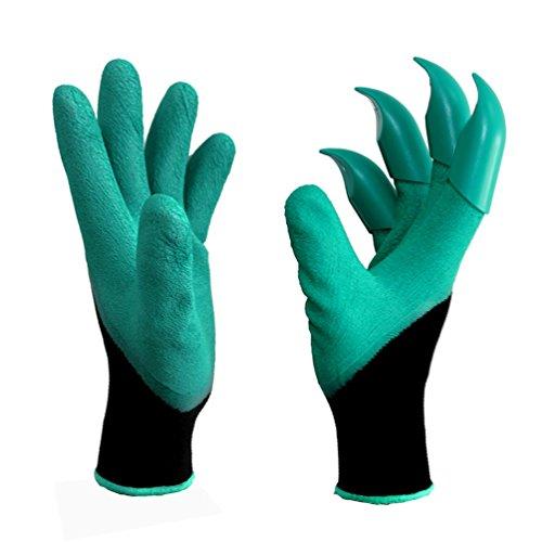 Gartenhandschuhe, Thorn Resistant Safe Gartenhandschuhe zum Beschneiden von Rosen, Graben, Pflanzen, Raking, Best Gift Idea für Gärtner (1 - Beschneiden Rosen