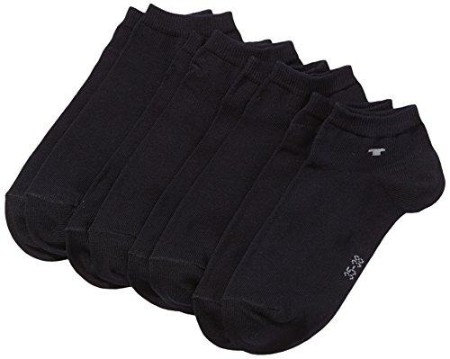 TOM TAILOR Unisex-Erwachsene Socken Blickdicht, Blau (Dark navy-545), 43-46