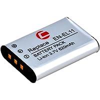 Carat Li-360 Lithium-Ion (Li-Ion) 620mAh 3.7V batterie rechargeable - Batteries rechargeables (620 mAh, Lithium-Ion (Li-Ion), 3,7 V, Noir)