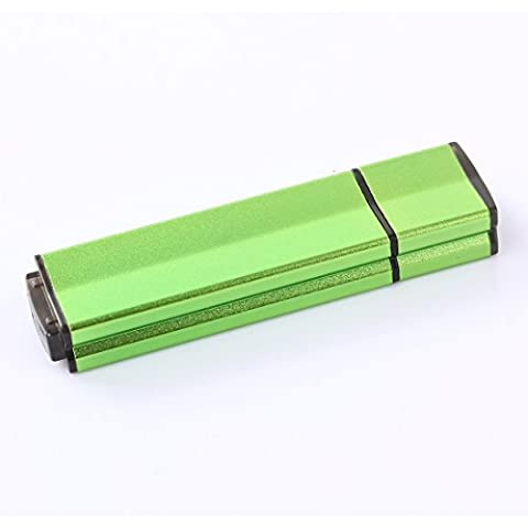 lalakie® Metallo ad alta velocità USB 3.0 Flash pen drive pendrive memory stick 64 gb (Verde)