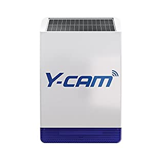 Y-Cam YPAOS01 Protect Solar Outdoor Siren, White