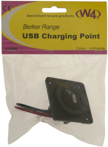 Price comparison product image W4 Berker USB Charging Point - Anthracite