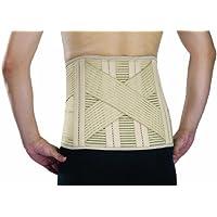 Dynamix Ortho - Soporte lumbar (transpirable, compresión por 8 puntos, 28 cm)