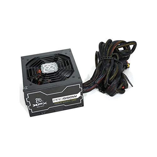 XFX Power PC PRO550W XPS-550W-SEW 80 Plus Bronze 550W Stromversorgung (Xfx Netzteil)