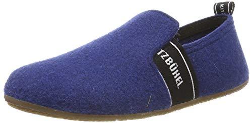 Living Kitzbühel Jungen T-Modell Schriftzug Niedrige Hausschuhe, Blau (Saphir 0569), 24 EU