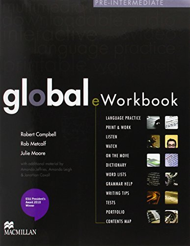 Global Pre-intermediate: Coursebook with eWorkbook Pack by Lindsay Clandfield (2010-02-08)