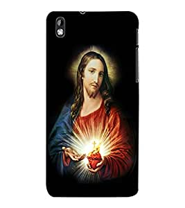 ColourCraft Lord Jesus Design Back Case Cover for HTC DESIRE 816