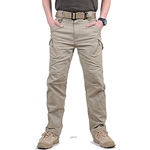 41IlttUeBbL. SS300  - MAGCOMSEN Men's Outdoor Scratch-Resistant Tactical Pants Lightweight Outdoor Cargo Pants Work Trousers