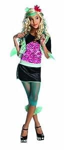Monster High - Disfraz de Lagoona Blue para niña, infantil 3-4 años (Rubie