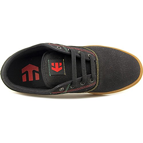 Etnies Jameson Toile Chaussure de Basket Black-Green-Gold