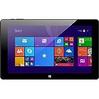 Xoro Pad 10W626,9cm (10,6) Convertible Tablet PC (Intel Atom Z3735F, 2GB RAM, 32GB flash, WLAN, Bluetooth, webcam, Office 365Personal, Win 10) Incluye Bolsa/QWERTZ Teclado Negro