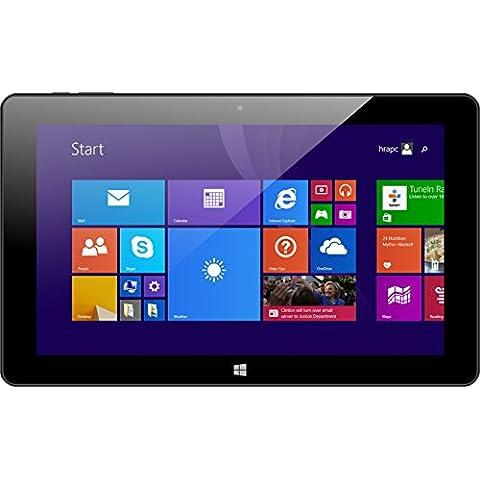 Xoro Pad 10W626,9cm (10,6) Convertible Tablet PC (Intel Atom Z3735F, 2GB RAM, 32GB flash, WLAN, Bluetooth, webcam, Office 365Personal, Win 10) Incluye Bolsa/QWERTZ Teclado