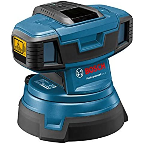 Bosch GSL 2 Professional - Nivelador láser (1.5 V, 170 mm, 215 mm, 200 mm) Azul