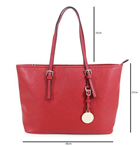 HB Style - Borsa sacchetto stile lusso Ragazza donna unisex adulti nero