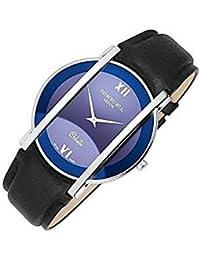 Montre Raymond Weil Othello 2201162au quartz (Batterie) acier Quandrante Bleu Bracelet Cuir