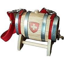 Barril Botti San Bernardo 0,5 litro Cruz Suiza grifo latón