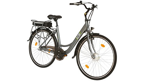 LLOBE E-Bike City Damen Noir