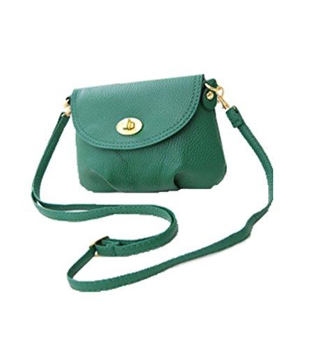 aimerfeel Mesdames mini-sac petit sac à main bandoulière messager de l'épaule, vert